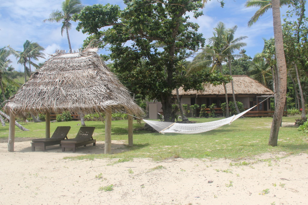 beachfront bure at the yasawa island resort & spa