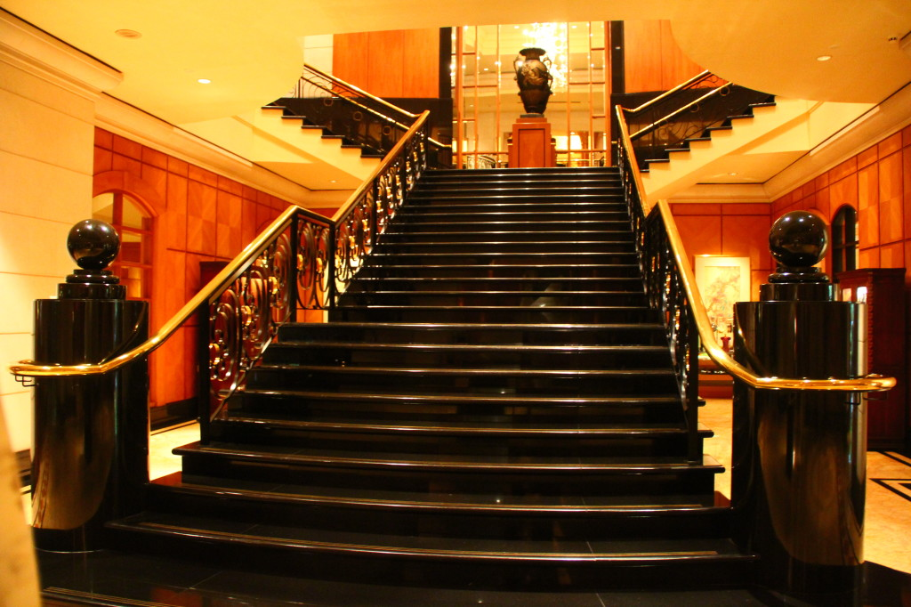 four seasons lobby - staircase