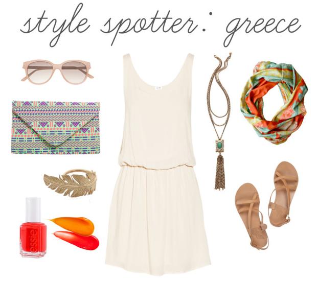 style spotter: greece