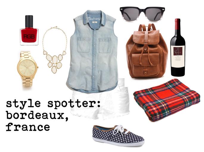 style spotter: bordeaux france