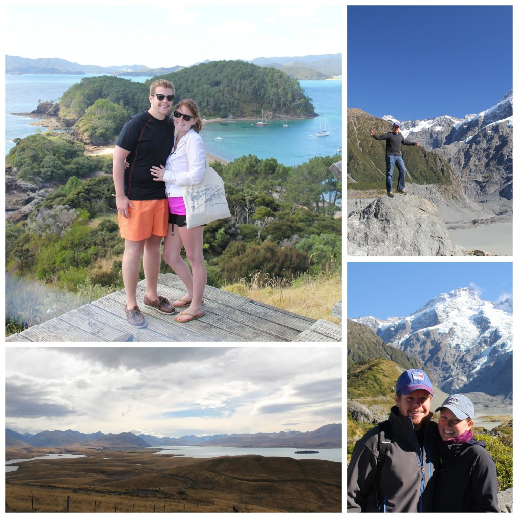hiking in nz