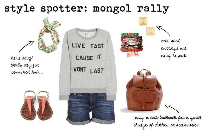 mongol rally daytime