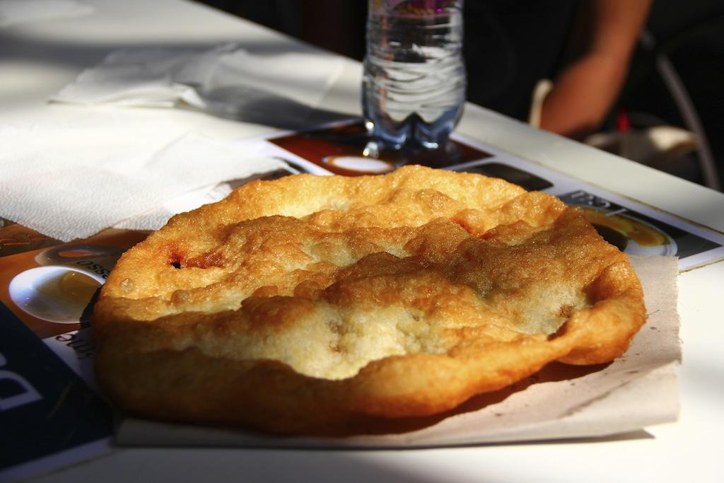 langos - budapest food tour