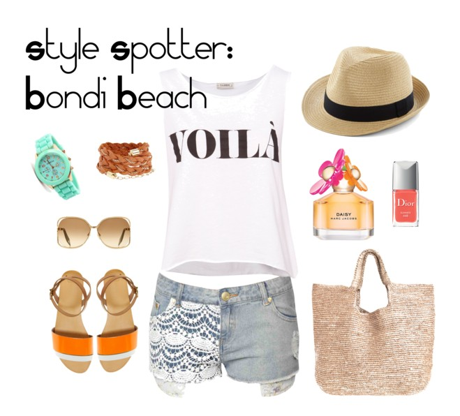 style spotter: bondi beach