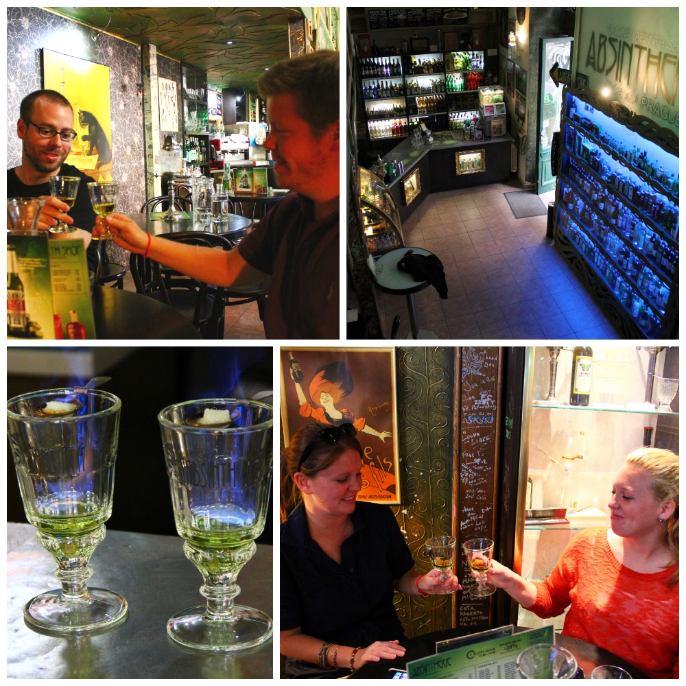 absinthe in prague