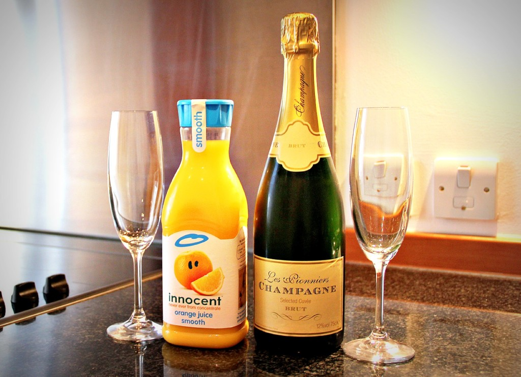 mimosas in the morning!