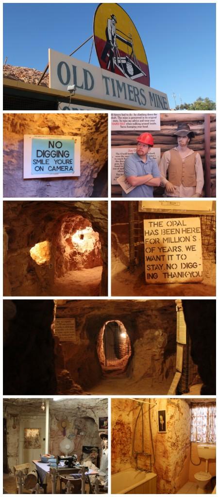 opal mine museum