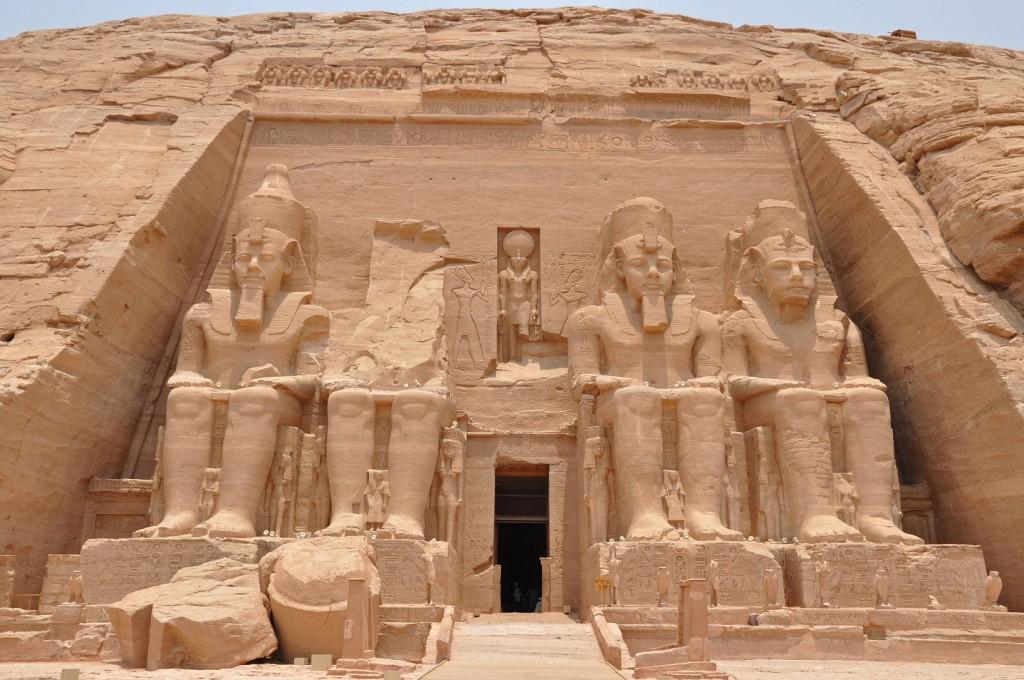 Egypt-Abu-Simbel-front-Travel-Addicts