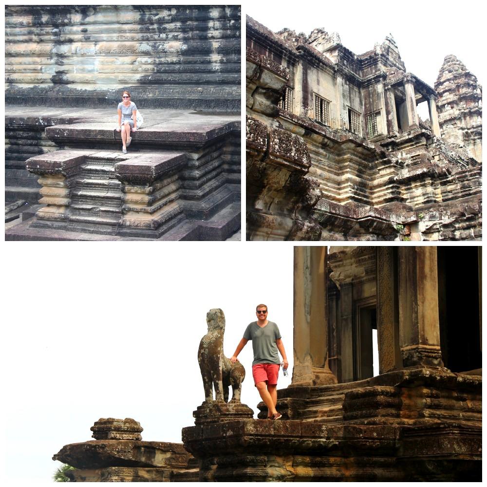 angkor steps