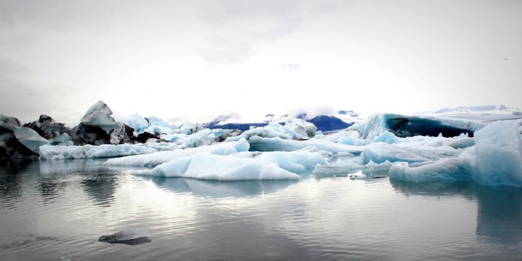 glacier bay - iceland