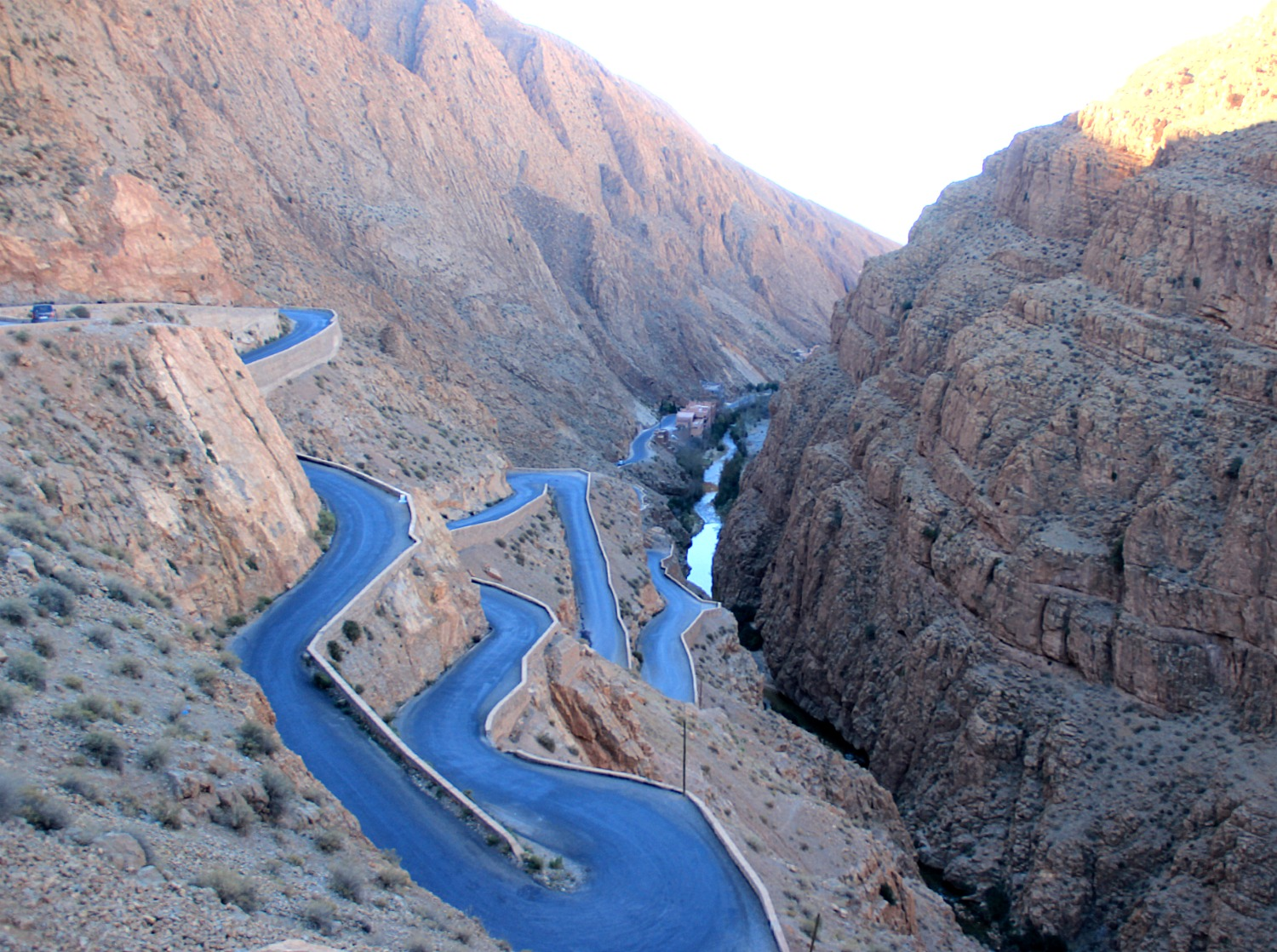Morocco - Scary Road