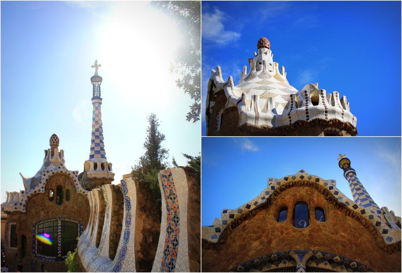 Park Güell Barcelona - Collage (1)