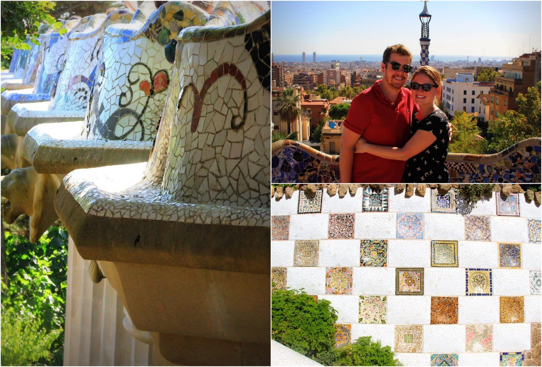 Park Güell Barcelona - Collage (2)