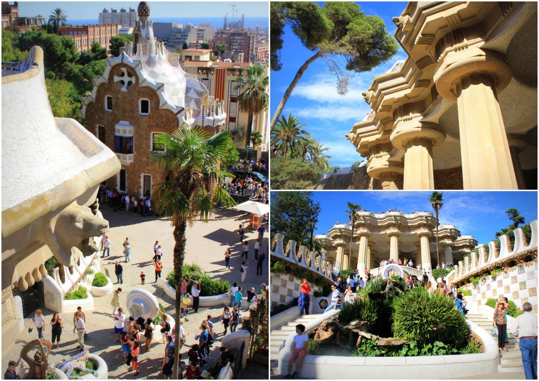 Park Güell Barcelona - Collage (3)