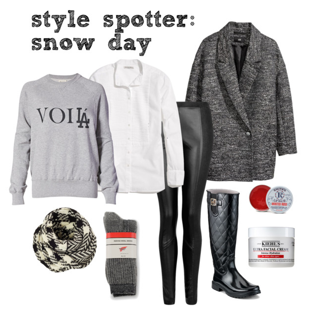 style spotter - snow day