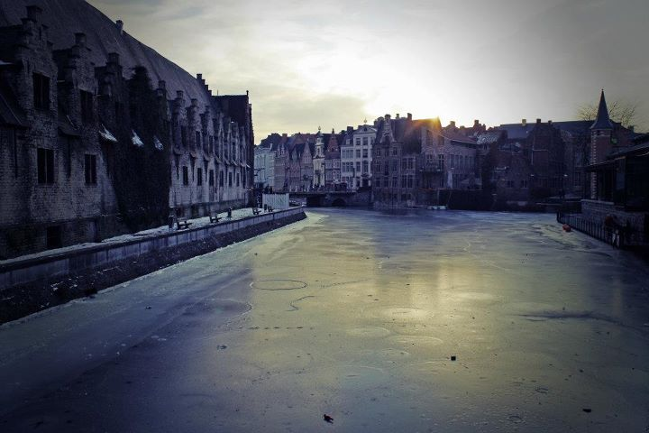 Winter in Ghent