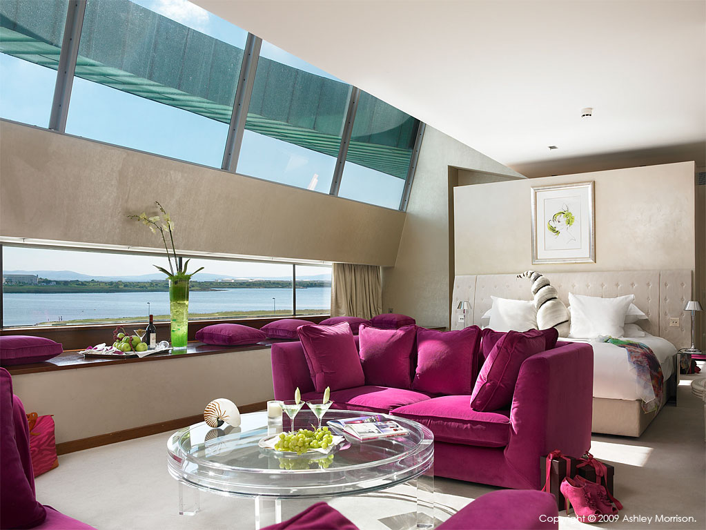 Speciality suite at The g hotel in Galway.