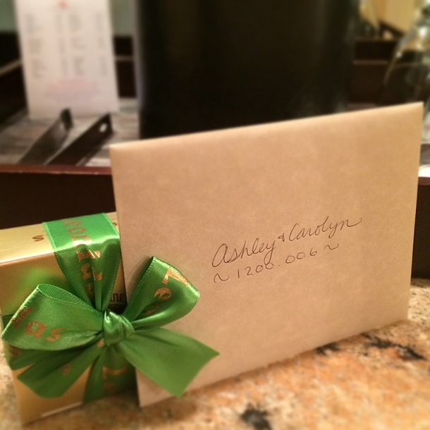 library hotel - gift