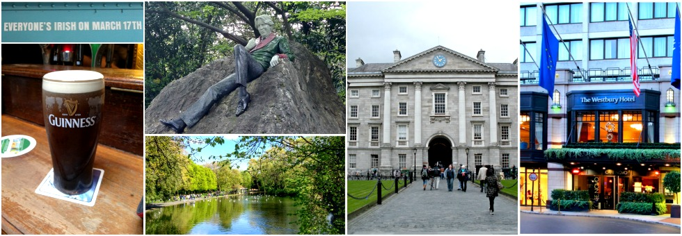 the dublin weekender, part one: sleeping & sightseeing