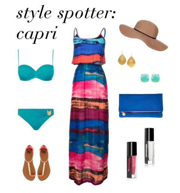 Style Spotter - Capri Italy