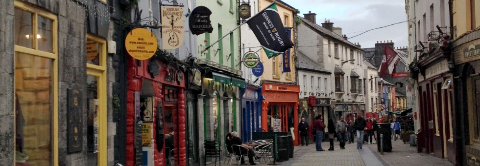gettin' our galway on… but like, sort of