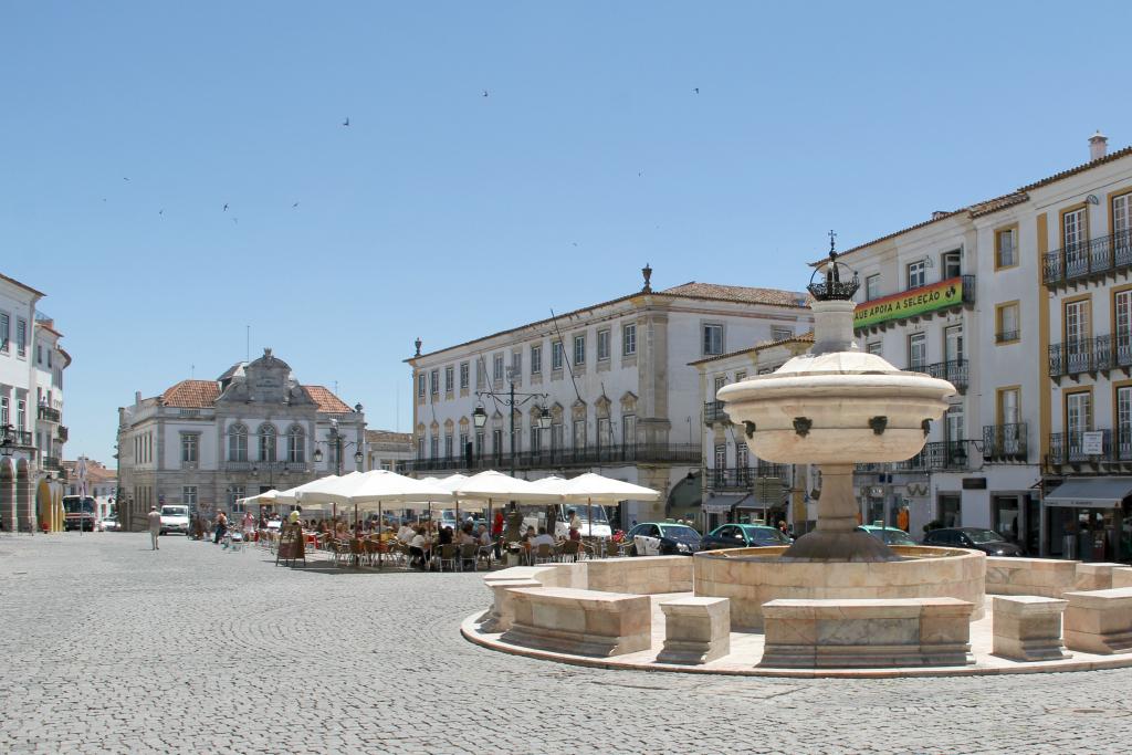Evora, Portugal - Main Square