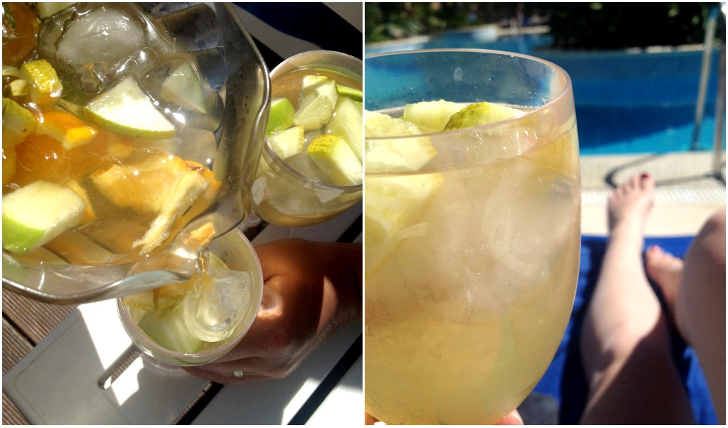 white sangria - the algarve