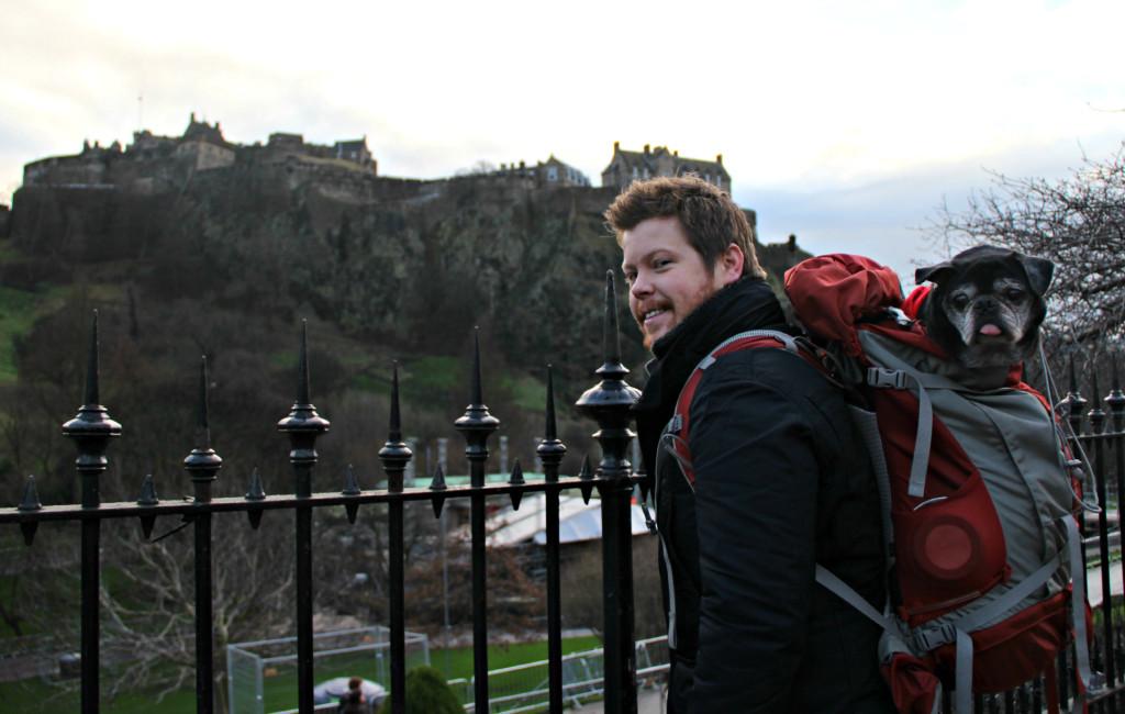 Dudes in Edinburgh