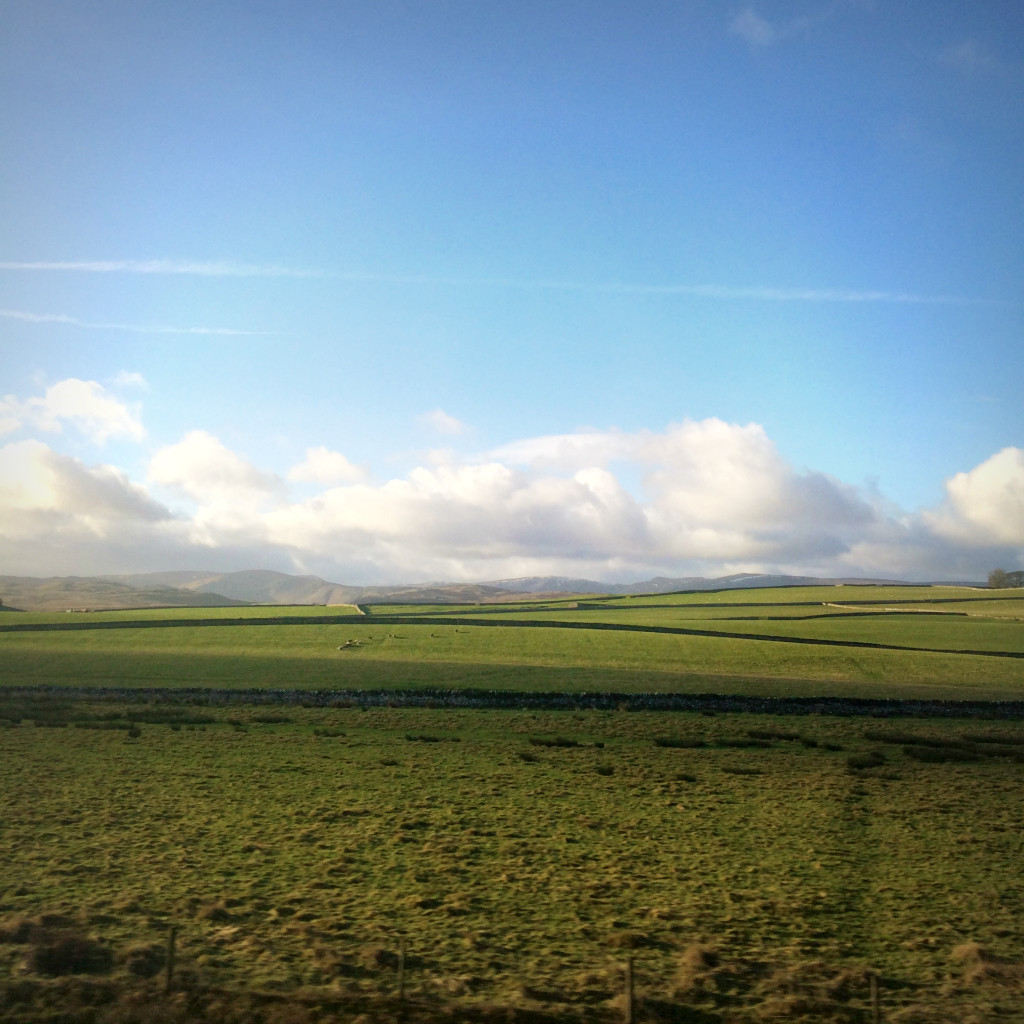 English Countryside by Train