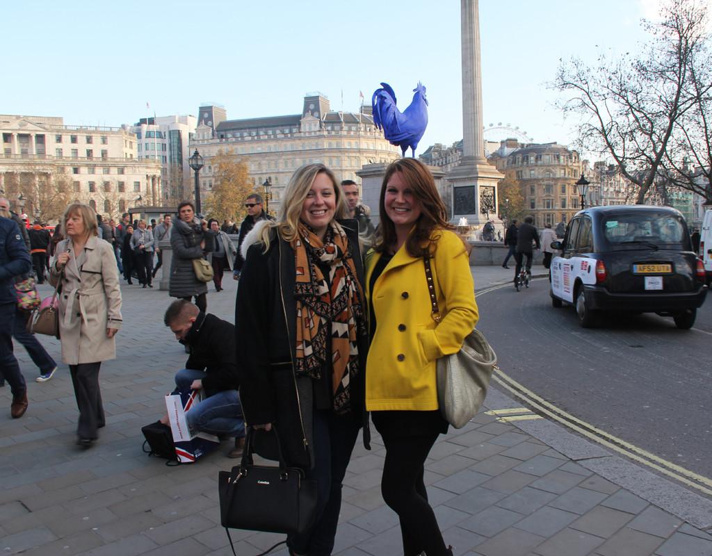 Sightseeing - Trafalgar Square