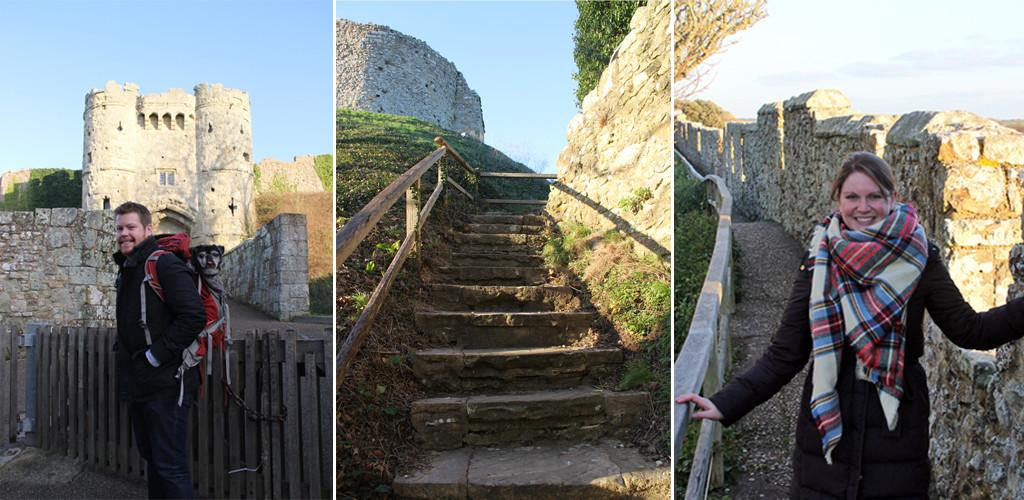 Carisbrooke Castle - Exploring