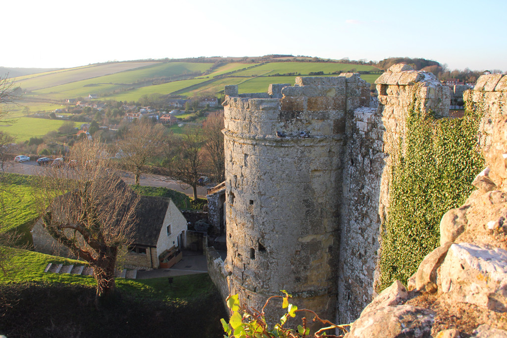 Carisbrooke Castle - Looking Out