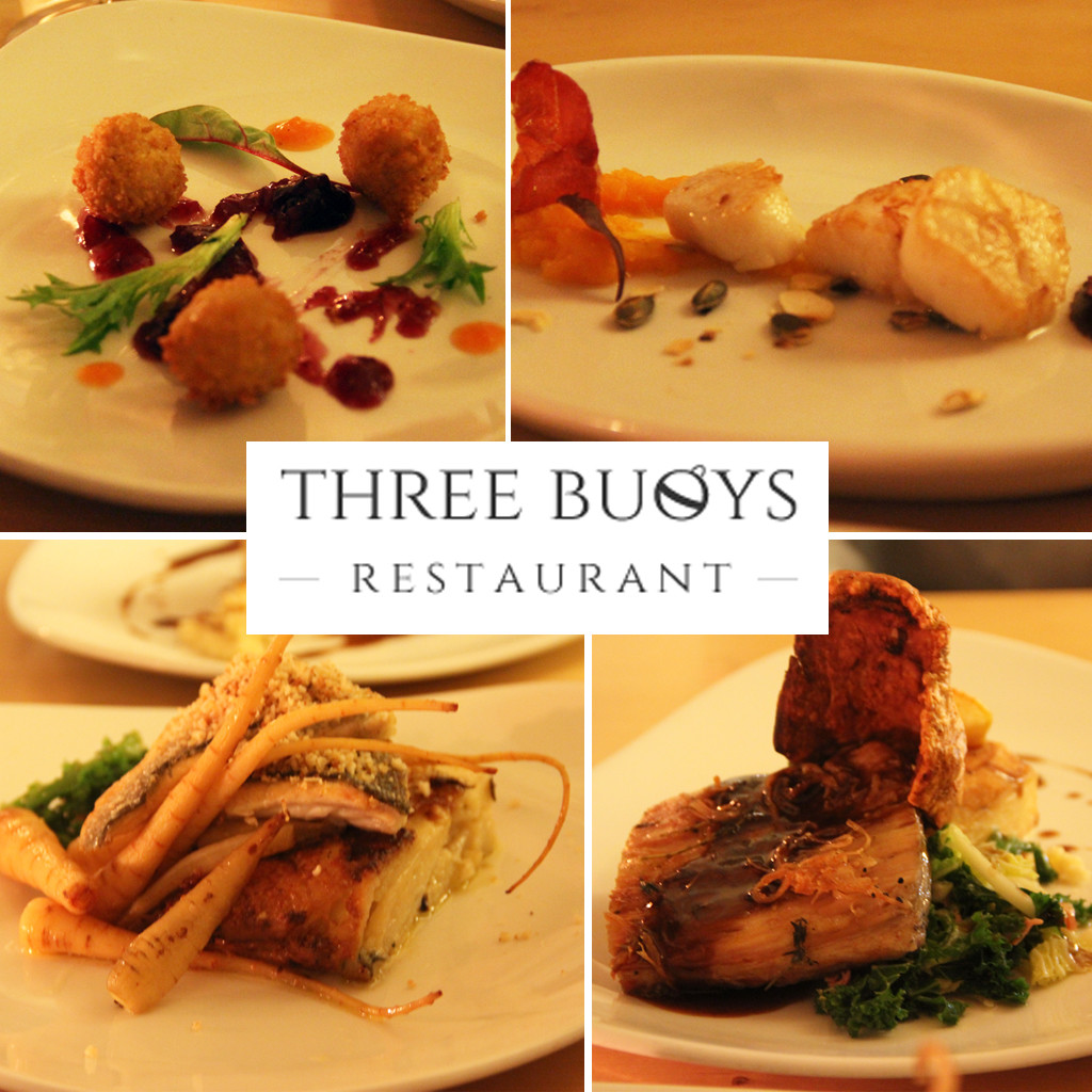 Three Buoys - Food