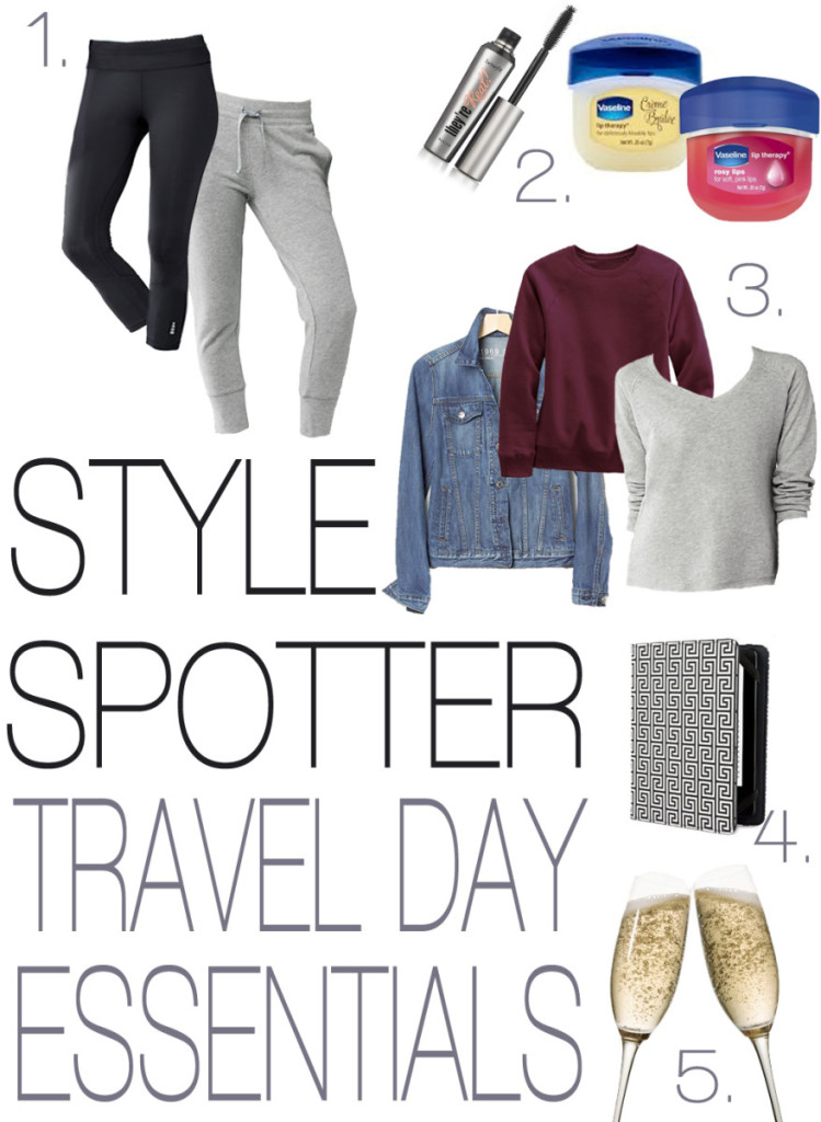 Style Spotter - Travel Day Essentials