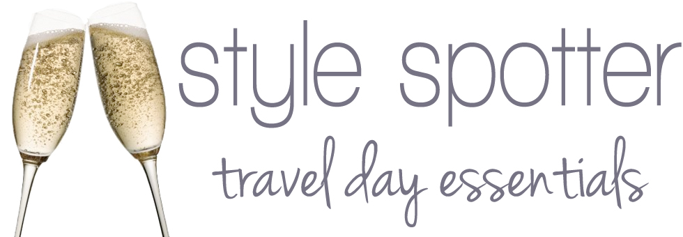 style spotter: travel day essentials