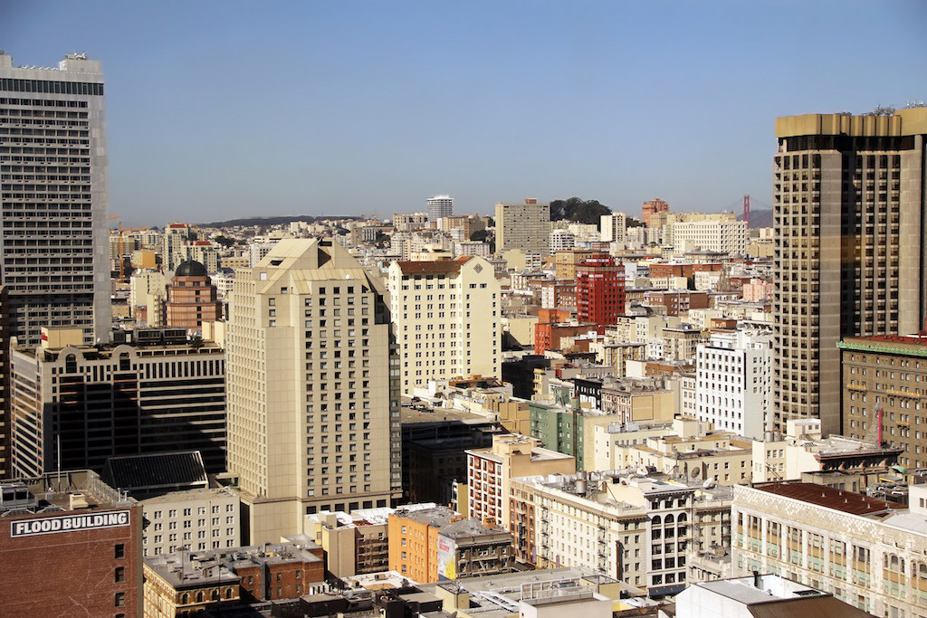 SF Marriott - view