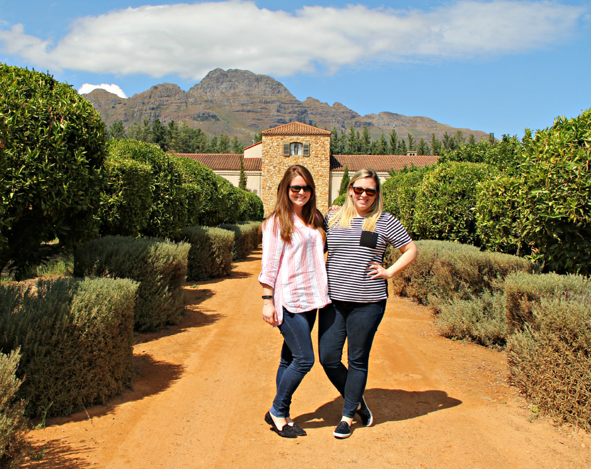 besties in franschhoek