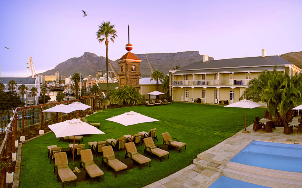 the dock house & table mountain