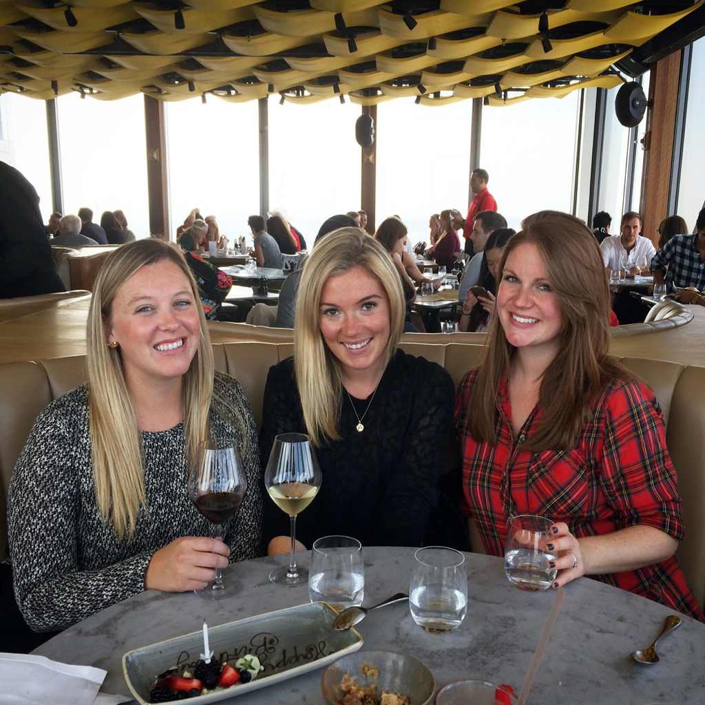 ladies who brunch - duck & waffle