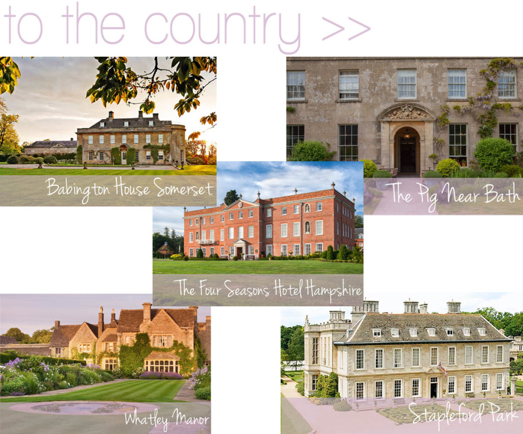 UK counryside - dream manor homes