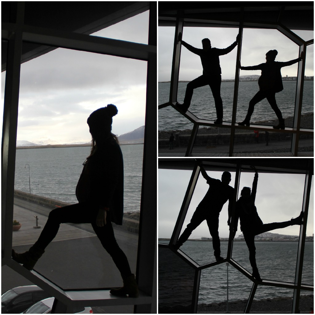 harpa - silhouettes