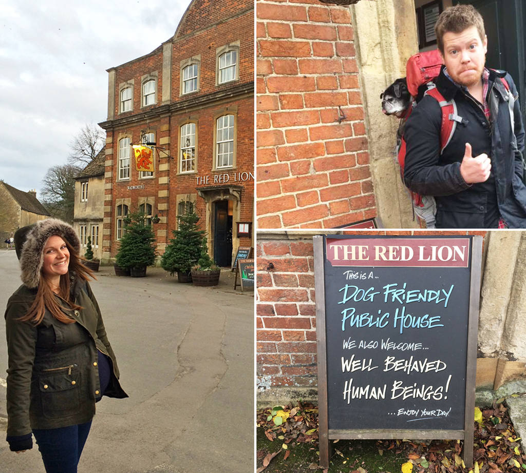 the red lion of lacock