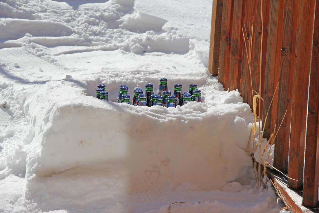 beer igloo!