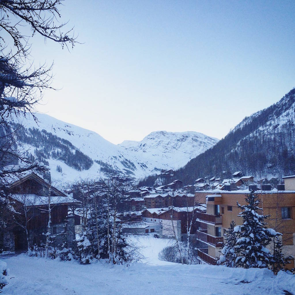 val d'isere - chalet view
