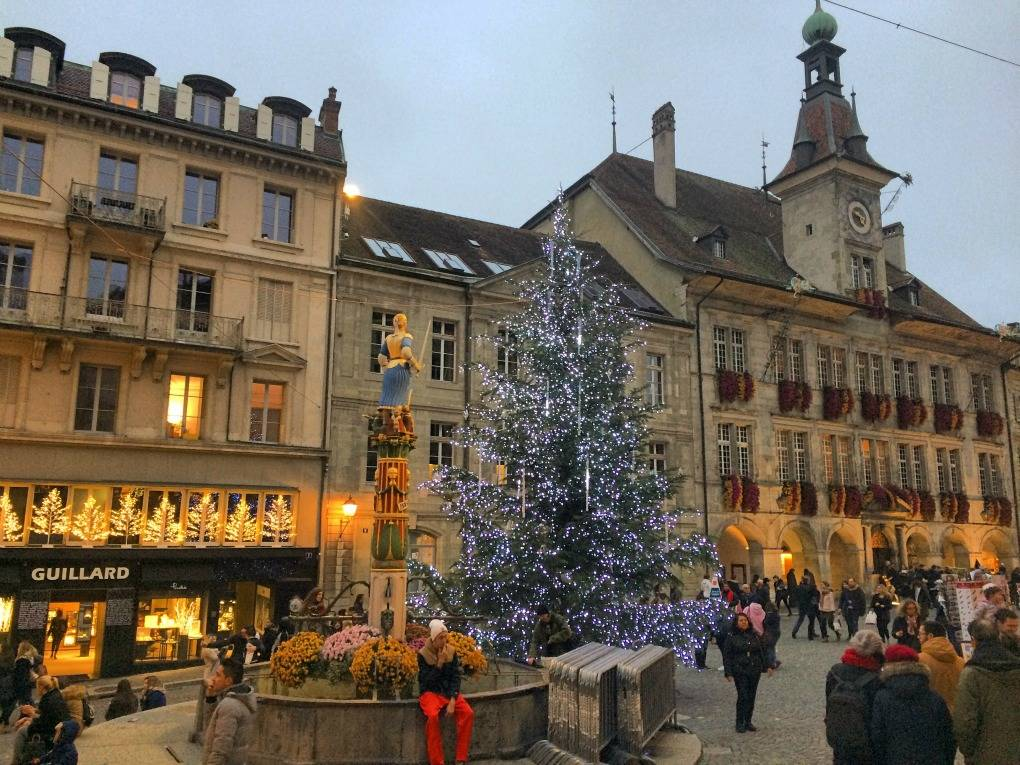 Lausanne christmas