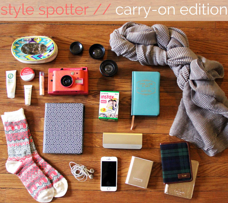style spotter - what's in our bag