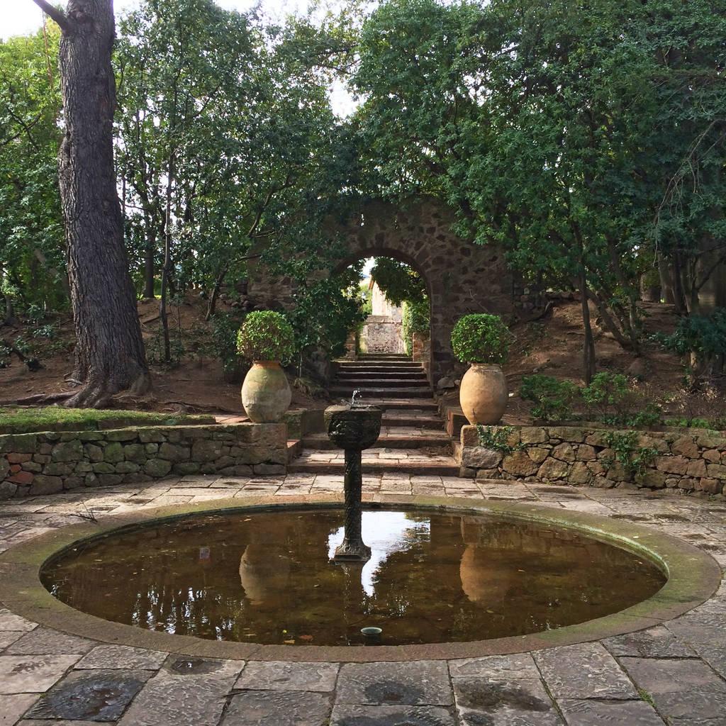 chateau de la napoule - gardens