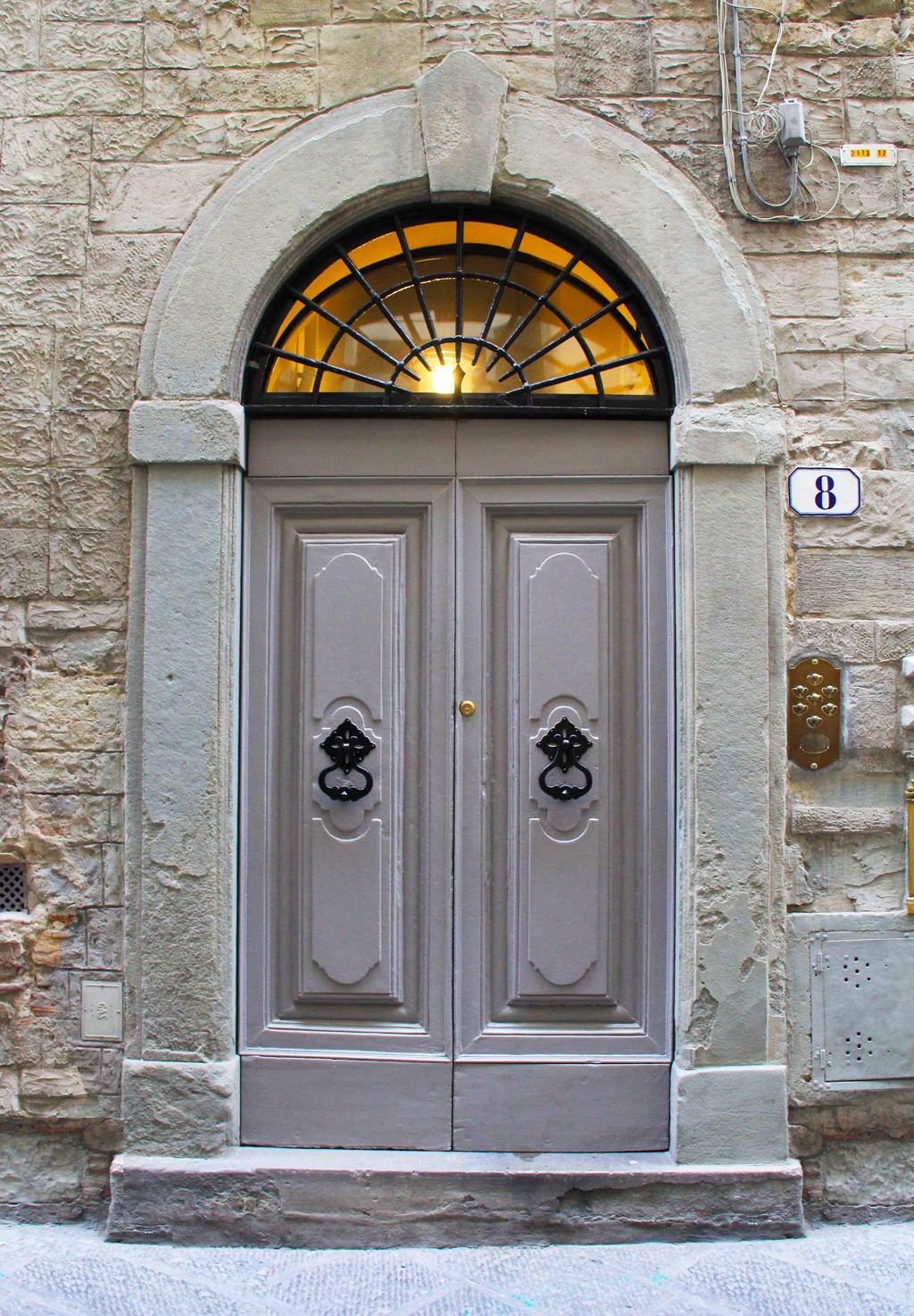 palazzo belfiore - front door