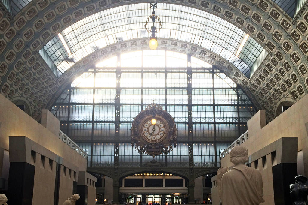 paris muse - musee d'orsay - inside