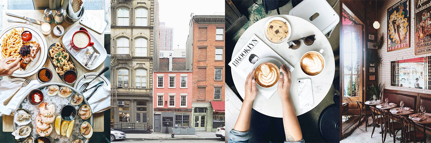 in a new york minute // an instagram guide to nyc